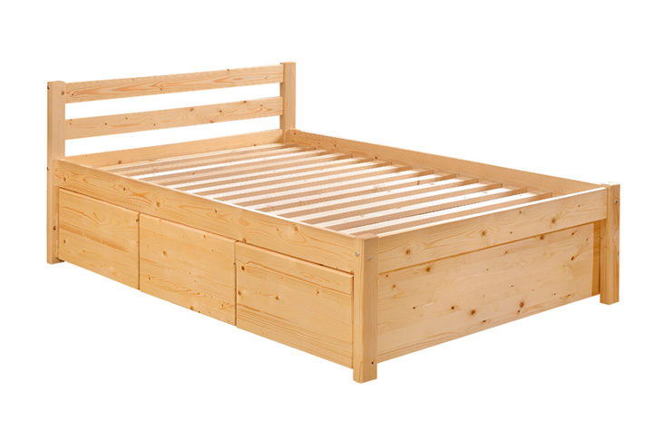 Wooden bed sea horse mattress household products for Household furniture catalogue