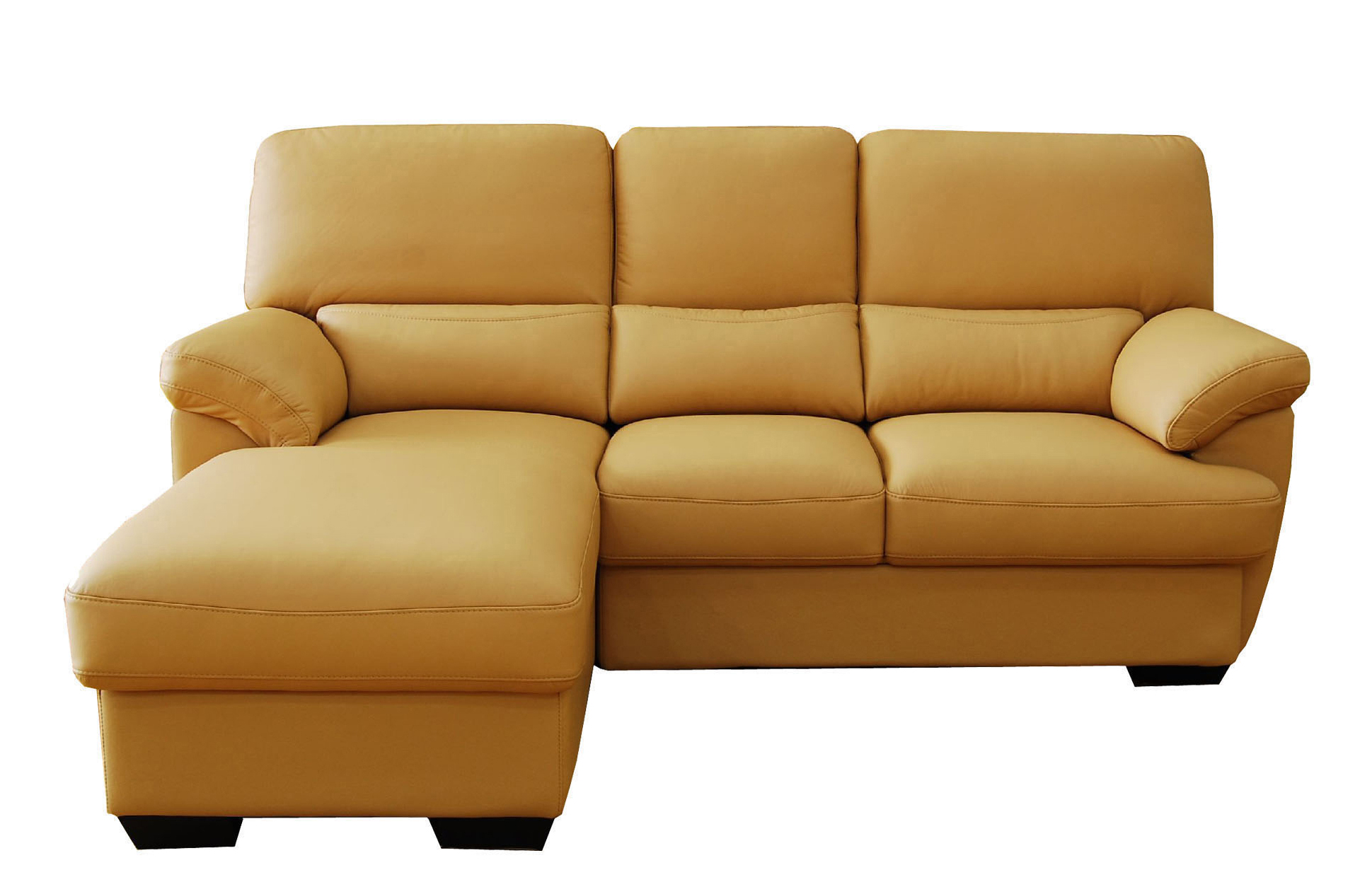 Superieur Part Leather Sofa(DIX3)